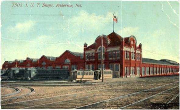 Anderson Broadway InterUrban Station