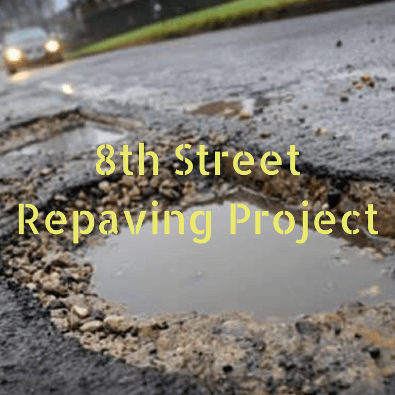8th Street Repaving Project