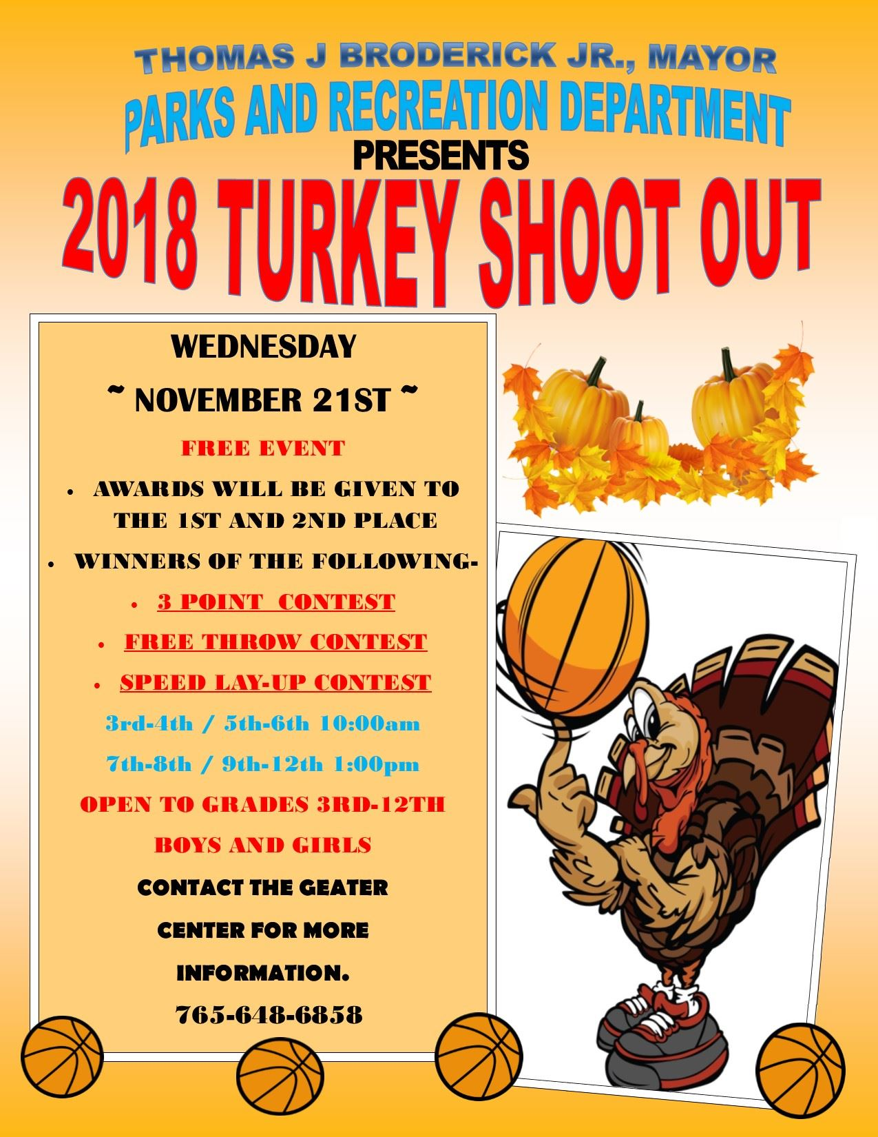 2018 Turkey Shoot Out