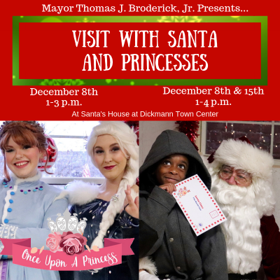 Visit with Santa and Princesses (2)