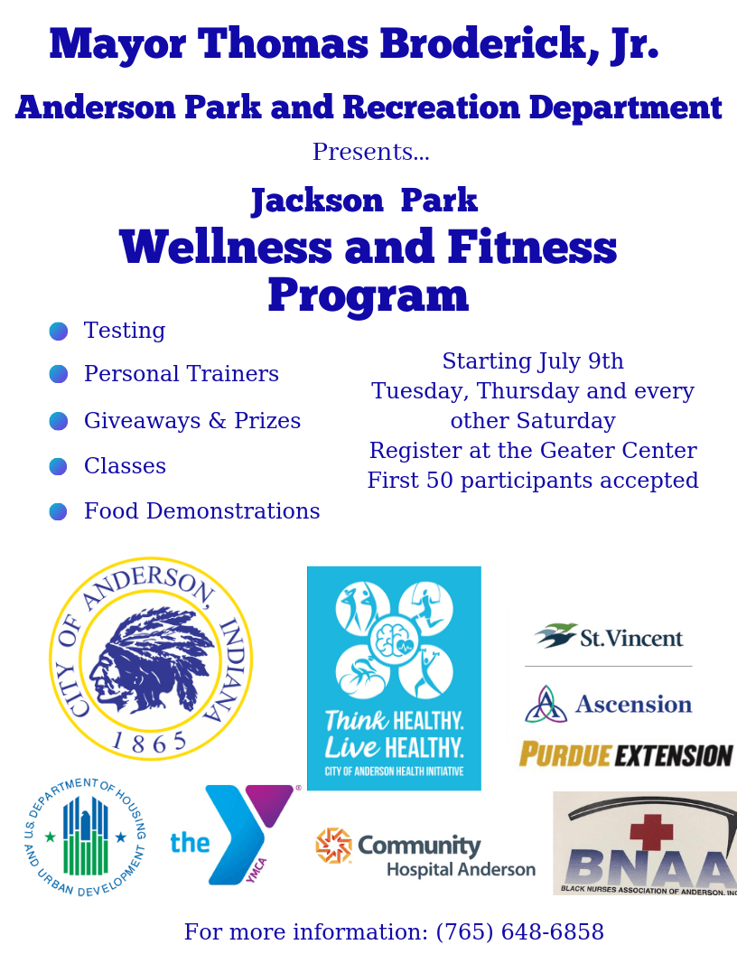 Jackson Park Wellness and Fitness Program (1) Flier