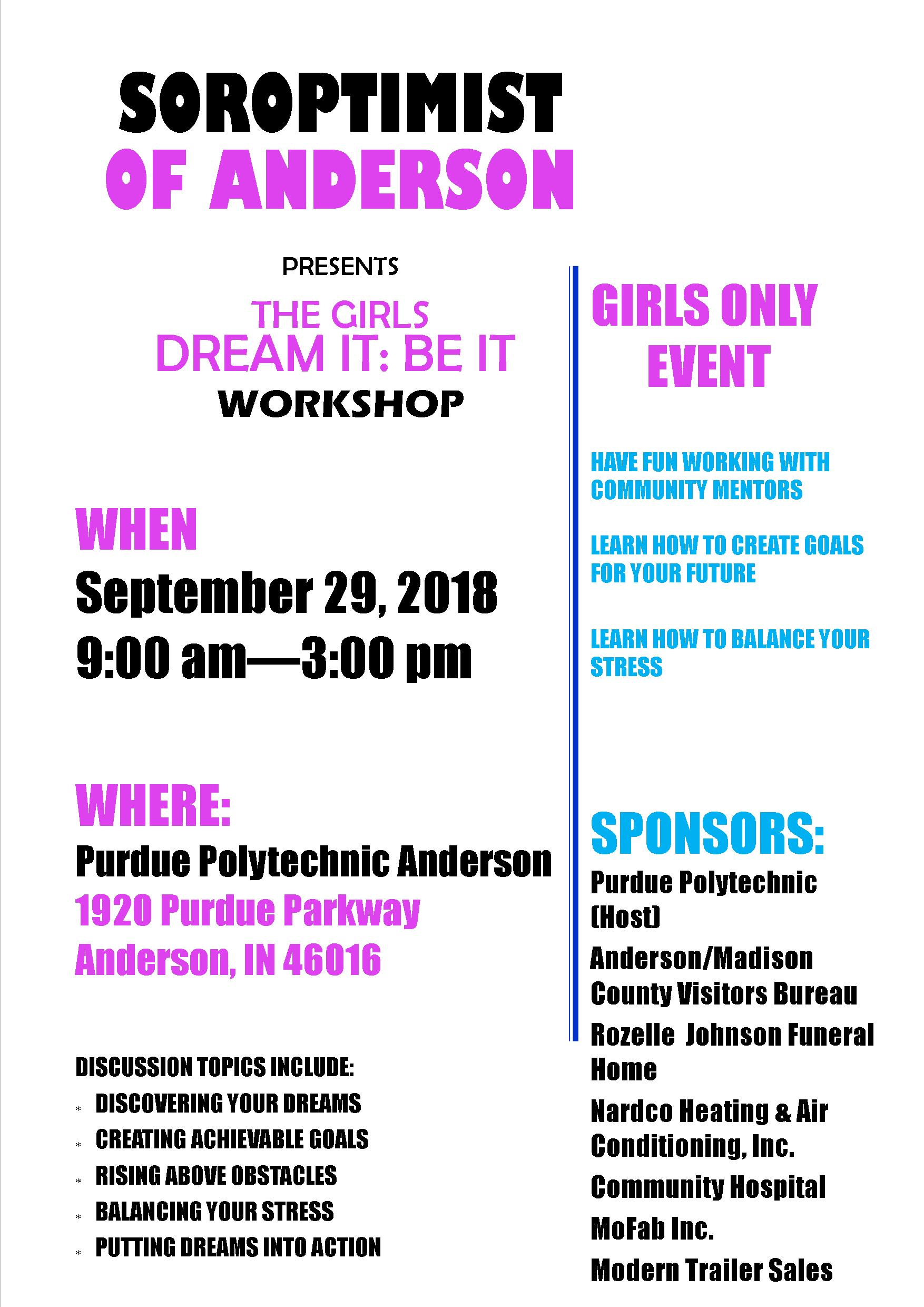 Girls Conference flyer 2