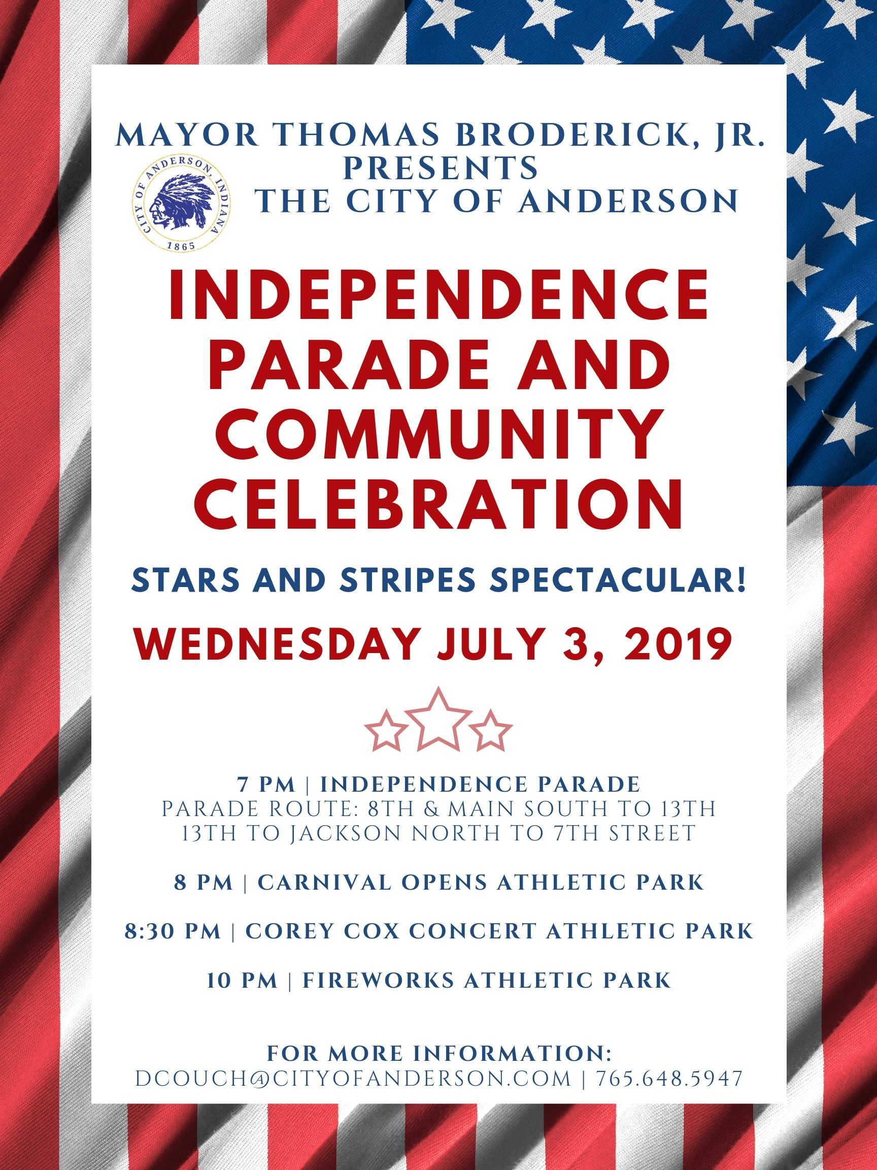City of Anderson Independence Parade 2019
