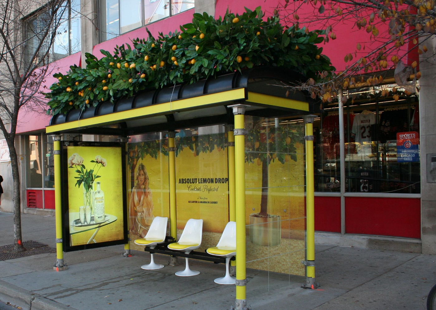 absolut_lemon_drop_bus_shelter